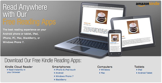 Download FREE Kindle Apps to read Kindle ebooks